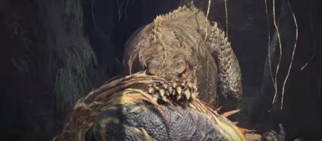 MHW may not be coming to Nintendo Switch. Image credit: Monster Hunter/youtube.com (screencap)