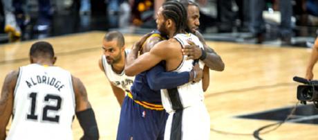 Kawhi Leonard contacted LeBron James about playing together [youtube screencap / NBA]