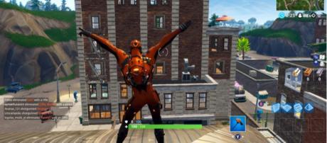 The new Vertex skin in 'Fortnite' - (Image Credit: Khalo/YouTube)