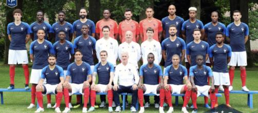Equipe de France - Mondial 2018 : La photo officielle de l'équipe ... - foot01.com