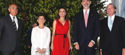 Los Reyes Felipe VI y Letizia, hicieron entrega de los premios 'Princesa de Girona'
