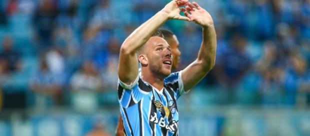 Arthur é o novo reforço do Barcelona (Foto: Lucas Uebel / Grêmio, DVG)