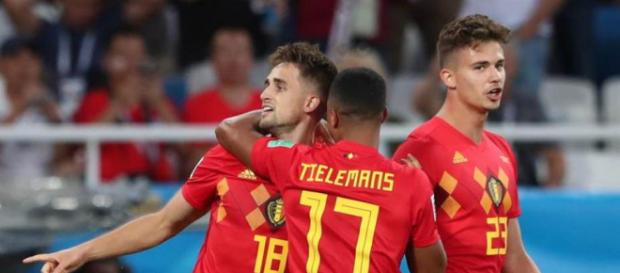 Bélgica le gana a Inglaterra 1 a 0 y se definió como líder del grupo G