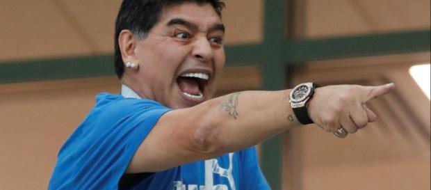 Colin Smith, directivo de la FIFA, pide a Maradona ser más respetuoso en el Mundial
