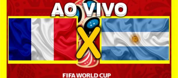 França e Argentina jogam pelas oitavas de final