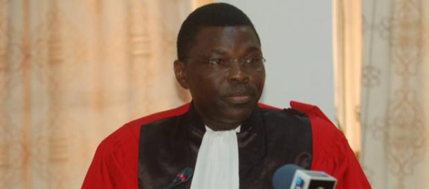 Joseph Djogbénou, président de la cour constitutionnelle