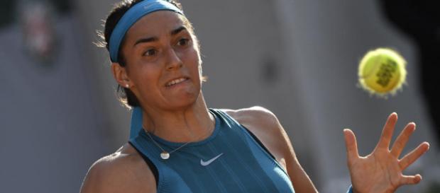 """Roland-Garros : Une Caroline Garcia """"poussive"""" mais qualifiée pour ... - francetvinfo.fr"""