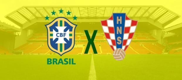 Amistoso: Brasil x Croácia ao vivo (foto reprodução).
