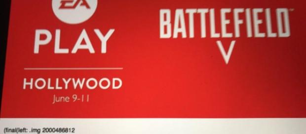 Battlefield V f se presentará en el EA Play del E3 2018