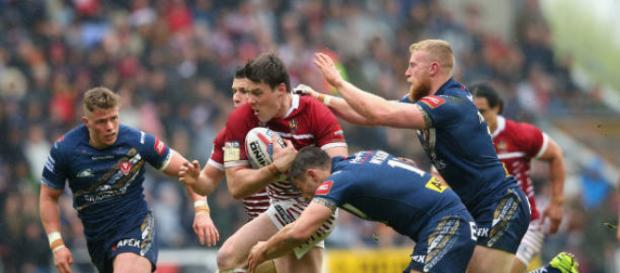 Joel Tomkins is in the bad books after a shocking video surfaced of him abusing a member of staff at a bar. Image Source - gettyimages.com