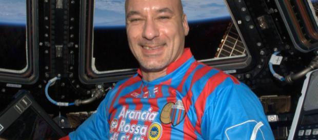 Luca Parmitano nello spazio nel 2013