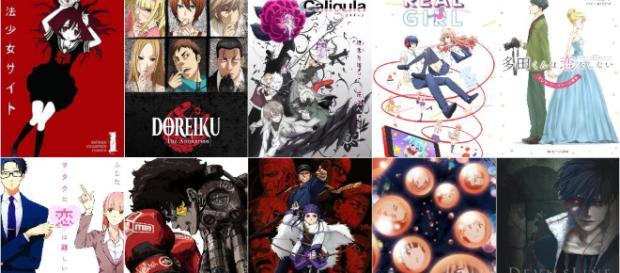 Posters oficiales de los animes