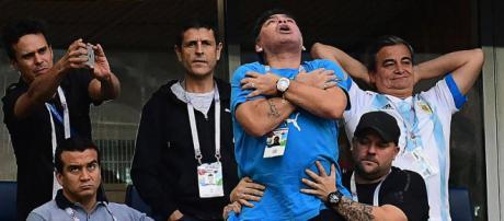 Diego Maradona pourrait encore être un fardeau pour l'Argentine dans ses prochains matchs.