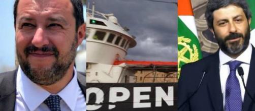 Matteo Salvini e il messaggio lanciato ad 'Open Arms': Roberto Fico disapprova -Blasting News