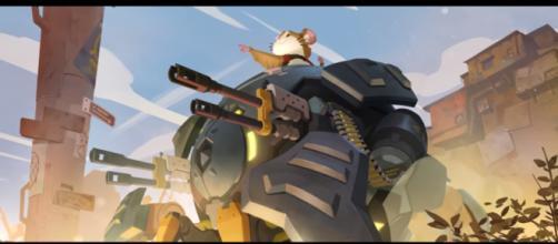 [NEW HERO – COMING SOON] Wrecking Ball Origin Story   Overwatch [Image Credit: PlayOverwatch/YouTube screencap]