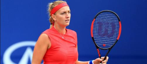 Petra Kvitova is favored to win the Women's title at Wimbledon. [Image via WTA/YouTube]