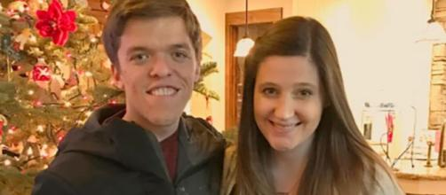 Zach and Tori Roloff from social network post