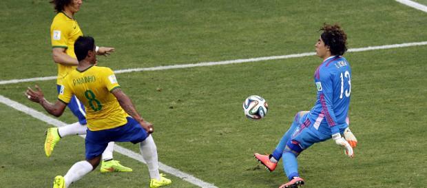 Brasil x México se encontraram na Copa de 2014