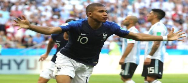 Mbappé foi o nome do jogo da França