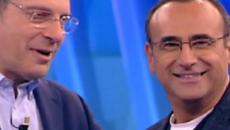 L'Eredità: dedica di Carlo Conti a Fabrizio Frizzi nell'ultima puntata