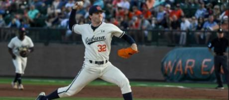 Detroit may select Auburn's Casey Mize at No. 1. [Image via NCAA.com/YouTube]