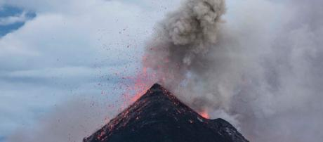Volcano has erupted in Guatemala, leaving 25 dead, including three children.