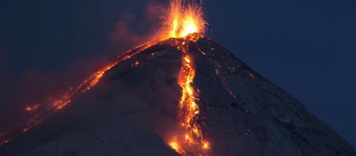 Éruption du volcan de Fuego au Guatemala