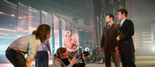 """Foto de bastidores da gravação de novo """"Missão: Impossível"""""""