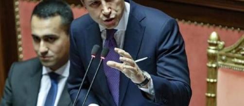 Il discorso di Giuseppe Conte al Senato.