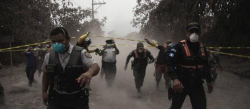 La cifra de muertos por la erupción del Volcán de Fuego en Guatemala, asciende a 25.
