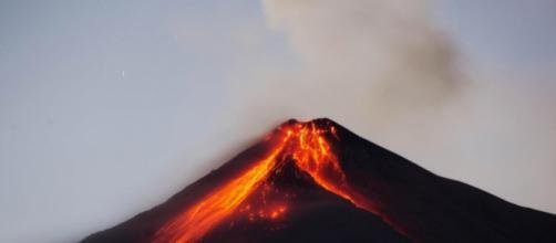 La erupción del volcán de Fuego en Guatemala