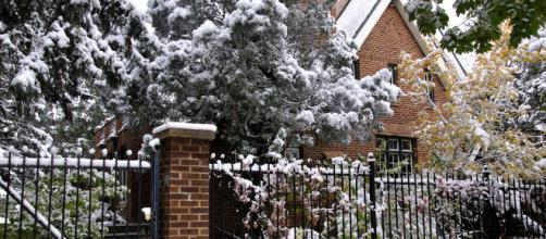 Outside of the Ramsey house where JonBenet was murdered (Image via Jennifer Boyer - Flickr)