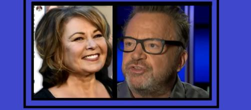 Tom Arnold jumps aboard Roseanne's tainted coattails. Photo: CBS Miami/Today Show YouTube Screenshots