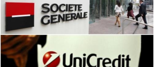 Unicredit, tornano le voci di una fusione con Soc Gen.