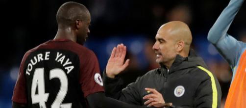 Yaya Toure señala de racista a Pep Guardiola
