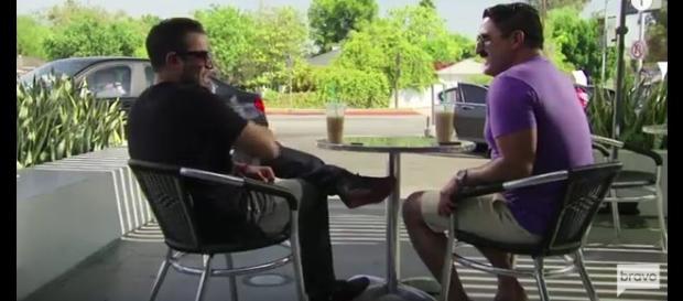 Bravo reality stars Mike Shouhed and Reza Farahan. - [Offline Daily | YouTube screencap]