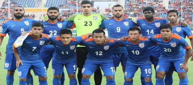 India to play Kenya on Tuesday (Image Credit: Indian football/Twitter)