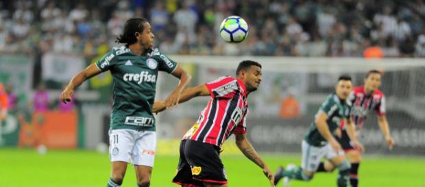 Keno perderão os três próximos jogos do Palmeiras