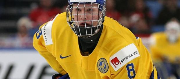 Rasmus Dahlin is projected be the first overall pick in the 2018 NHL Draft [Image via R1ku Exposures/Flickr]
