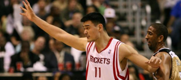 Yao Ming was inducted into the Basketball Hall of Fame in 2016. [Image Source: Flickr   Keith Allison]