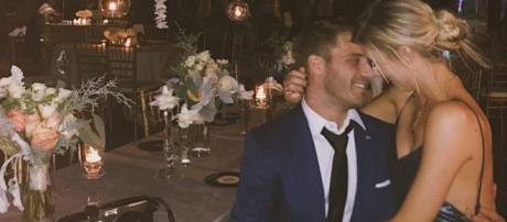 The Bachelor's Danielle Maltby and Big Brother's Paul Calafiore - social network post
