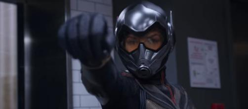 Ant-Man will be teaming up with The Wasp this summer. [Image via Movie Clips Trailers/YouTube]