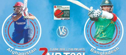 Ban vs AFG 2nd t20 live streaming (Image via Afghanistan Cricket Board/Twitter)