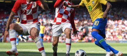 Neymar regresa con un gran gol, en amistoso frente a Croacia