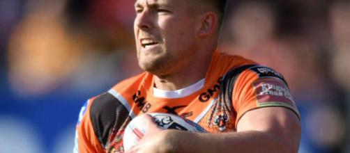 Greg Eden showed just what the Tigers have been missing with a brilliant fullback's performance against Hull KR. Image Source - aol.co.uk