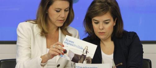 Llegan los enfrentamientos en dirigentes del PP: Cospedal, Soraya, Margallo…