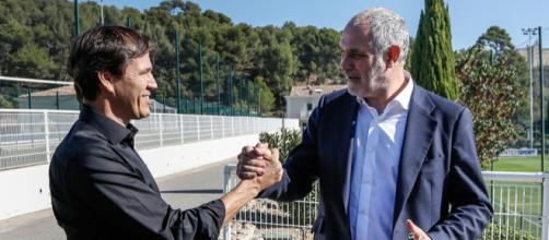 La relation n'est plus au beau fixe entre Andoni Zubizarreta et Rudi Garcia