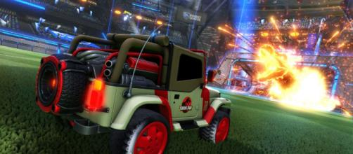 Rocket League recibirá este pack DLC de Jurassic World el 18 el junio.