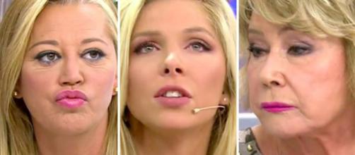Sálvame: Romina Malaspina se enfrenta a Belén Esteban y Mila Ximénez