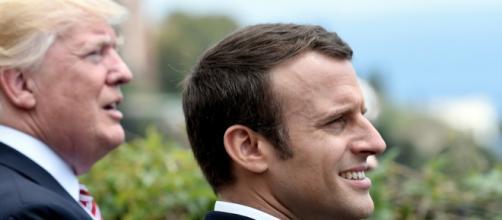 Un appel téléphonique catastrophique entre Trump et Macron ?